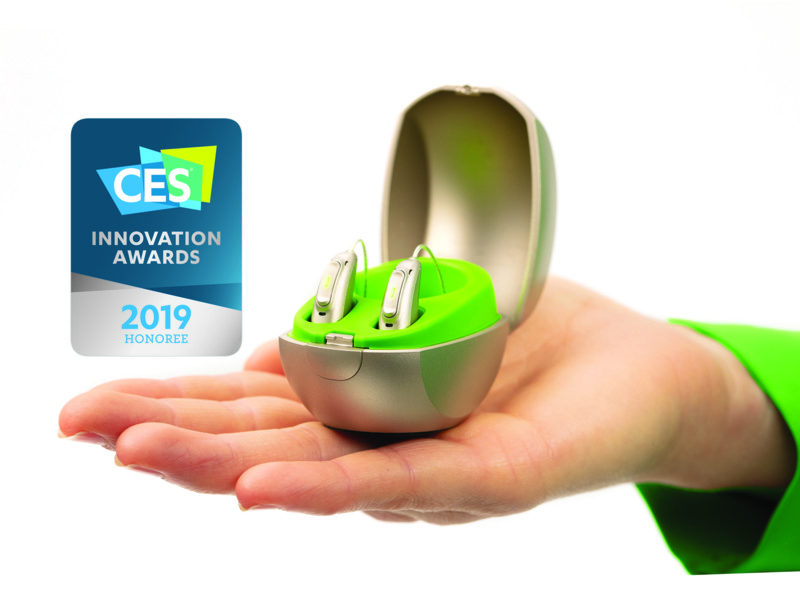 Phonak ontvangt twee CES innovation awards