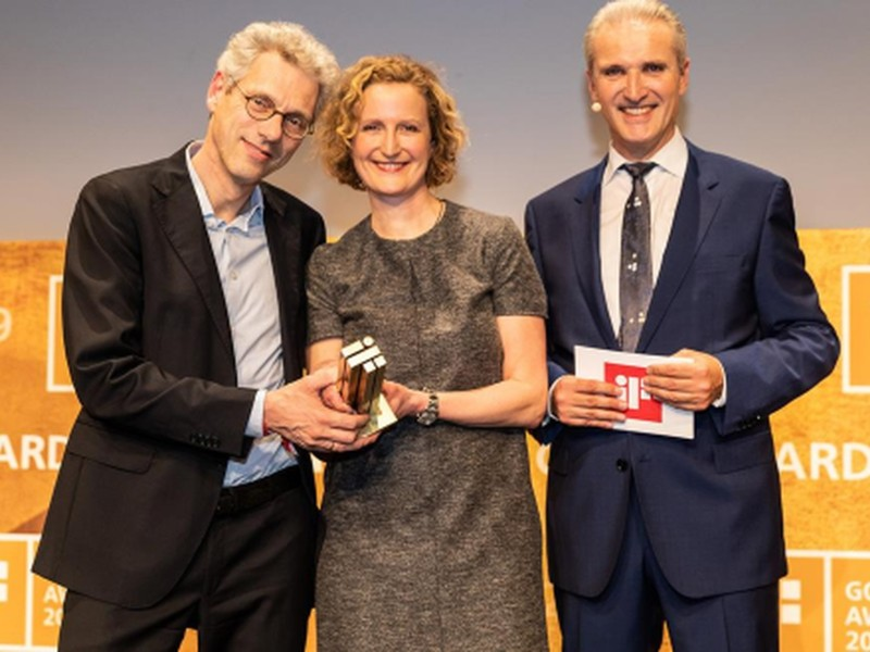 Styletto wint iF Gold Award 2019